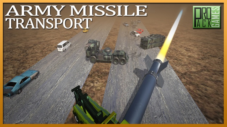 Army Missile Transporter Duty - Real Truck Driving screenshot-3