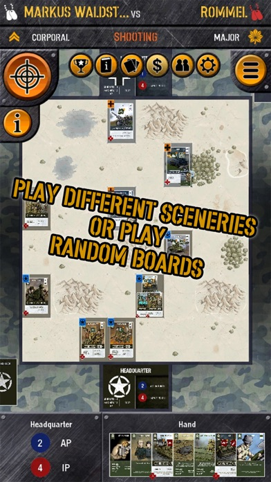 WWII Tactics Card Game screenshot two