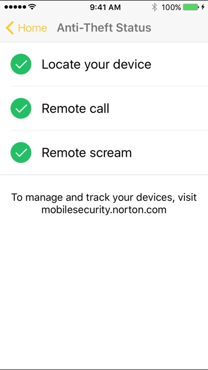 Norton Mobile Security – Lost Phone Finder