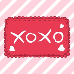 xoxo - Valentine Stickers