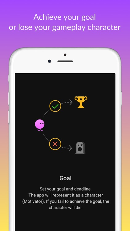 Motivator — habits tracker & life goals motivation