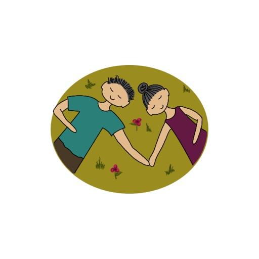 Signs Of Love-Sticker von Kirill&Sofia