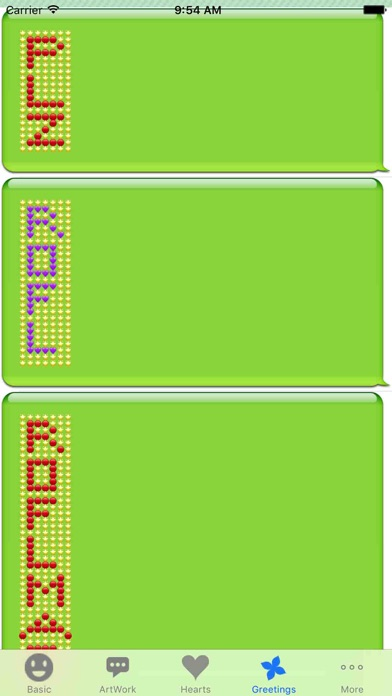 Text Artworks screenshot four