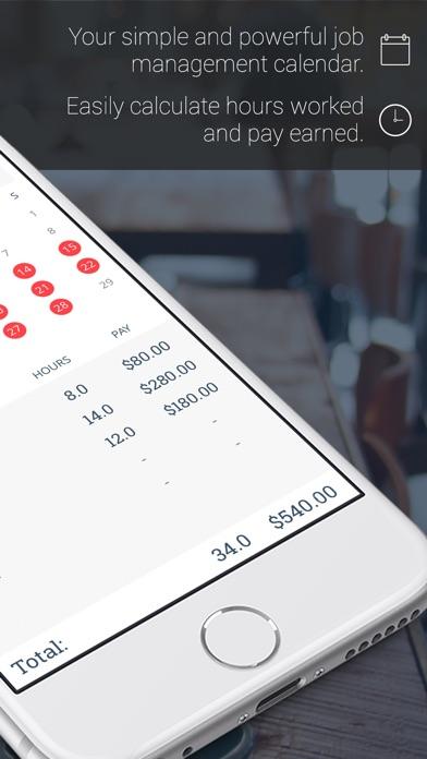 WorkTime: Arbeitszeit KalenderScreenshot von 2