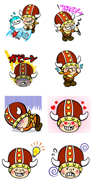 Little Viking Stickers screenshot-4