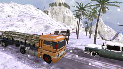 グランド雪のトラックのシミュレーター: 貨物トラック ドライバーの 3 Dのおすすめ画像2