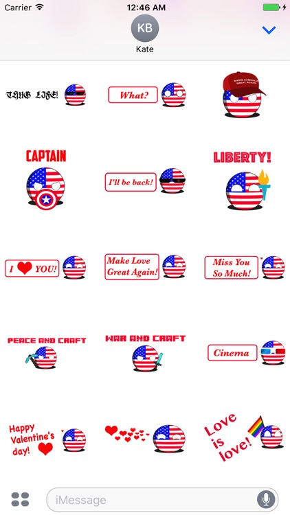 CountryBalls - USA screenshot-1