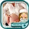 怀孕相框和婴儿淋浴 - 临