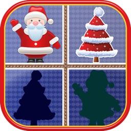 Christmas Matching Pairs - Santa Slaus and Xmas