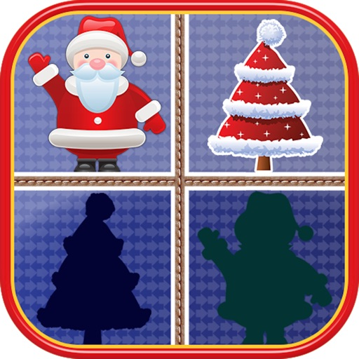 Christmas Matching Pairs - Santa Slaus and Xmas icon