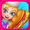 三明治餐厅  - 免费烹饪冒险遊戏  Sandwich Cafe Game