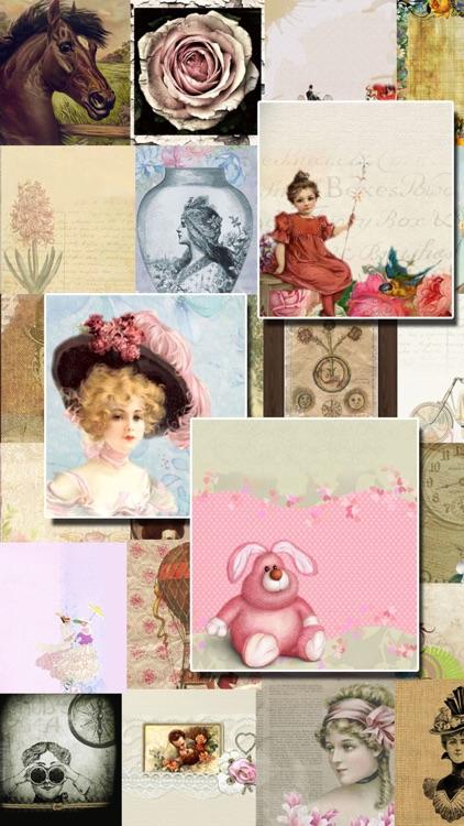 VINTAGE Wallpapers - Retro nostalgic backgrounds