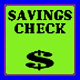 Savings Check