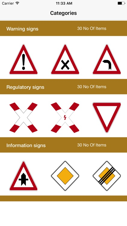 Germany Road Traffic Signs