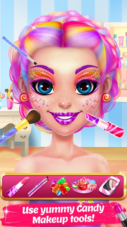 Candy Makeup Beauty Game