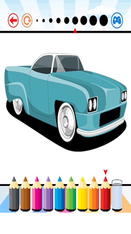 Car Cassic Coloring Book - Activities for Kid