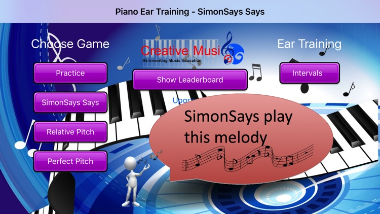 Piano Ear Trainer - SimonSays