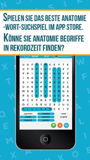 Anatomie + Neuroanatomie Wort Suche Pro - Medizinische Terminologie ...