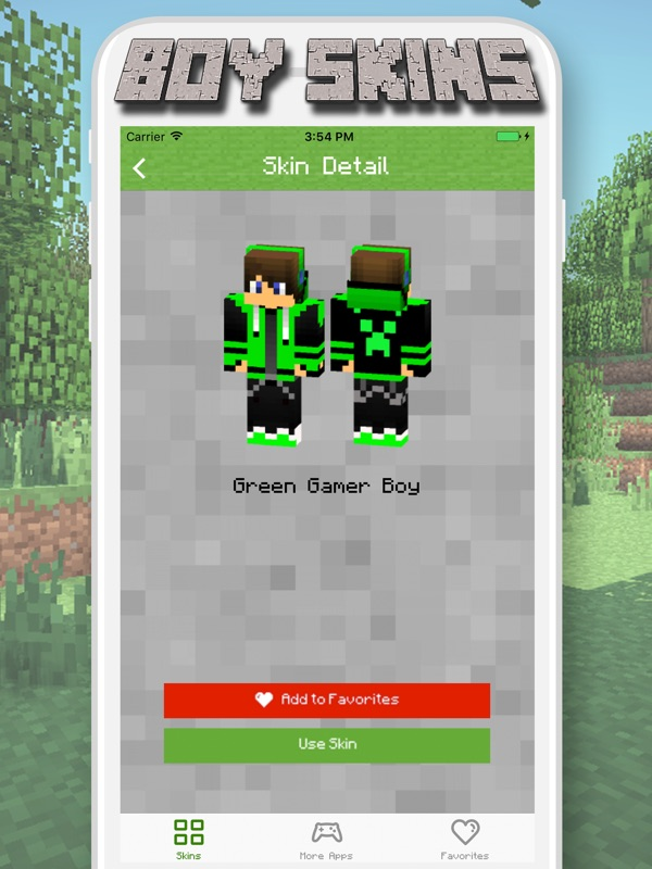 Boy Skins for Minecraft PE - MCPE Skins Free - Online Game