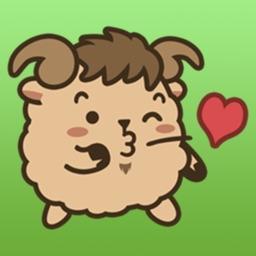 Cute Aries Zodiac Sticker