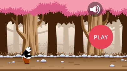 Jungle Little Panda Run screenshot one