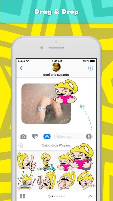Gatot Kaca Wayang stickers for iMessage-0