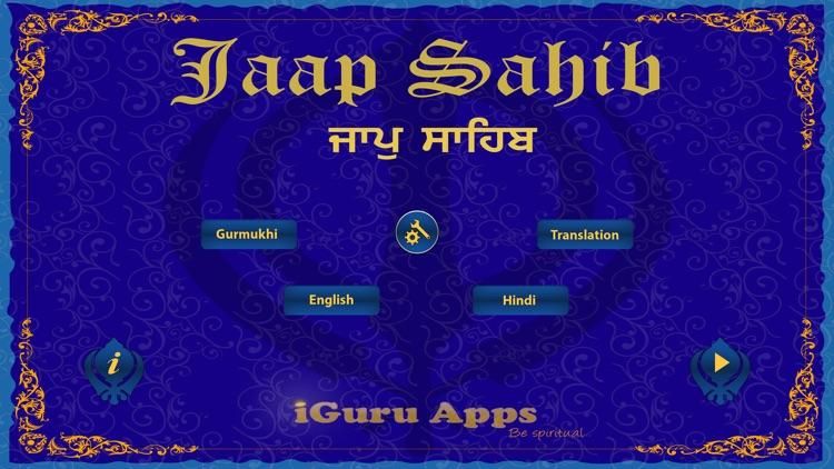 Jaap Sahib Paath with Gurmukhi, English, Hindi