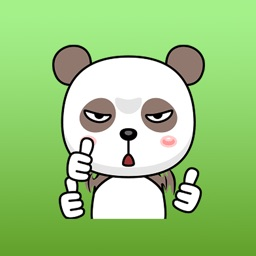 Taboo The Funny Panda Animated Sticker