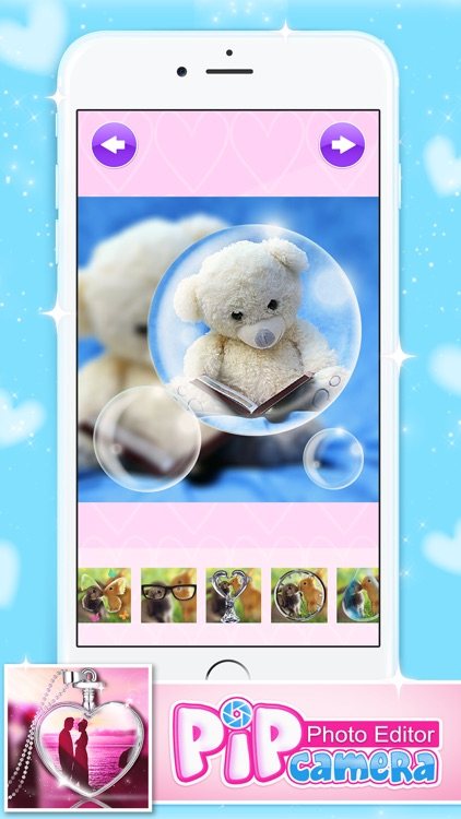 Photo Editor PIP Camera with Cute Effects