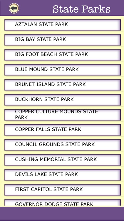 Wisconsin Campgrounds & Hiking Trails,State Parks screenshot-4