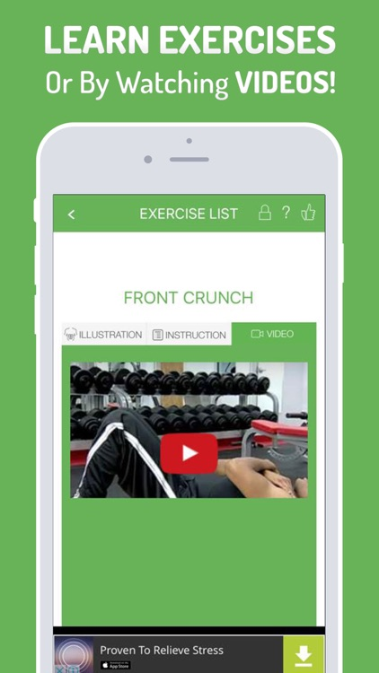 iAbs - Six pack abs exercise, Workout & Diet Plan screenshot-3