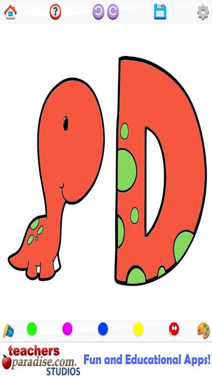 Dinosaurs Coloring Book screenshot-4