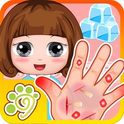 Belle's doctor hand care clinic - kids games free