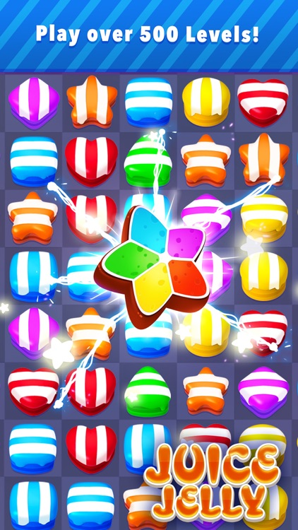 Juice Jelly - Blast Match 3 Games Online screenshot-3