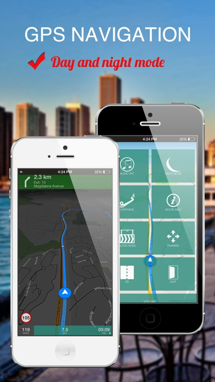 New York City, USA : Offline GPS Navigation