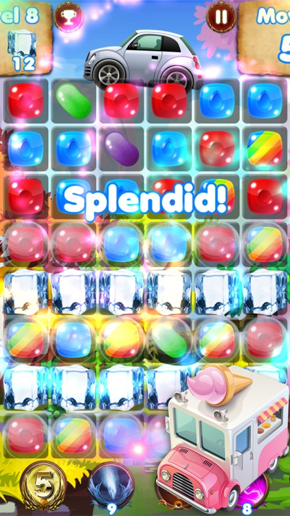 Candy Cars - fun games for kids & car games race screenshot-3