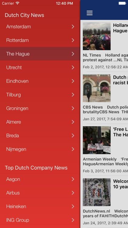 Dutch News in English screenshot-4