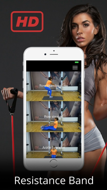 Resistance Band Training Exercises Rubber Workout