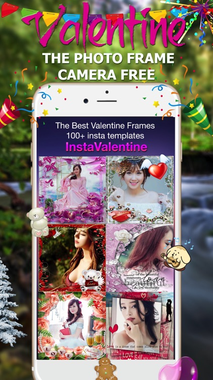Valentine Photo Frame - Wonder Photo & Frame Maker screenshot-1