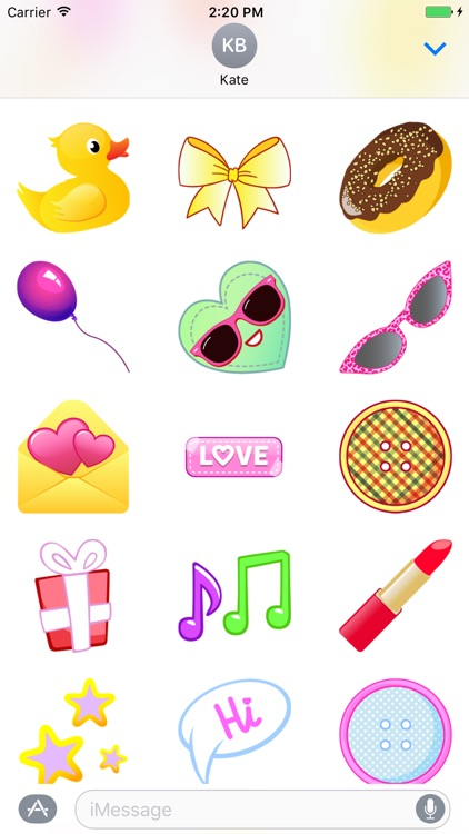 Valentine Whisper - Fc Sticker