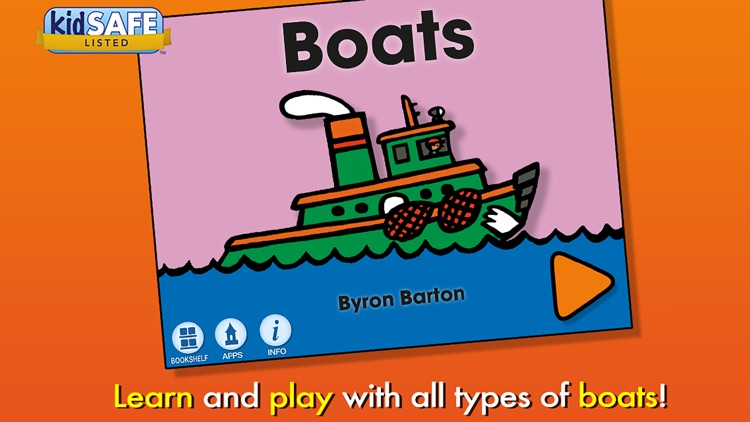 Boats - Byron Barton screenshot-0