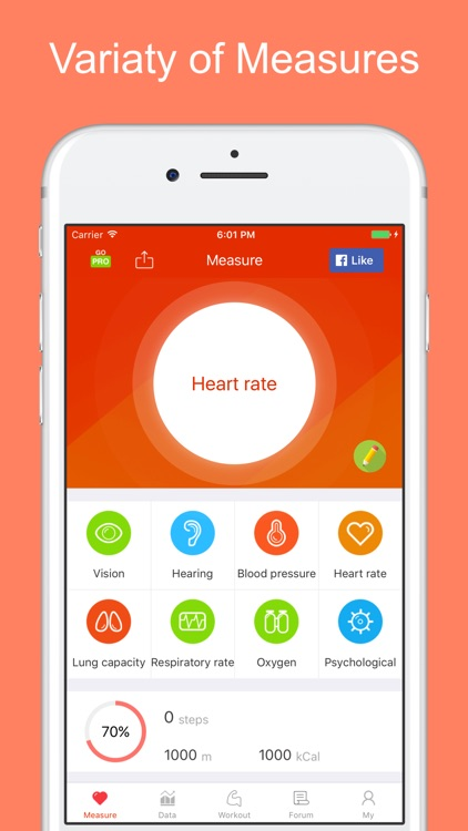 iCare Heart Rate Monitor-measur realtime heartrate