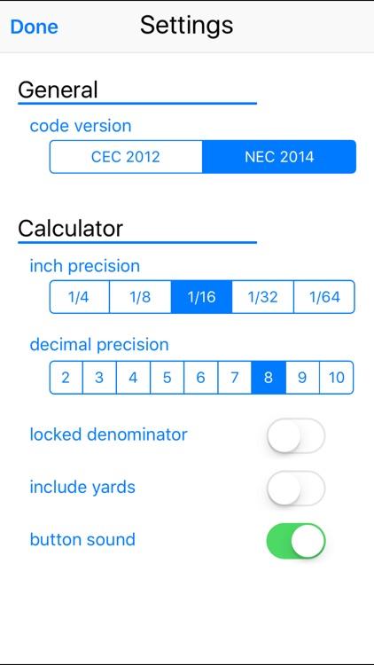 Conduit Calc Pro screenshot-3