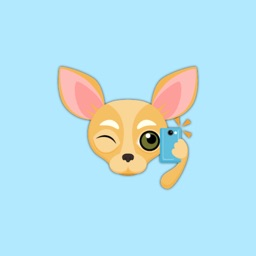 Animated Fawn Chihuahua Stickers