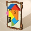 Kids Learning Puzzles: Portraits, Tangram Playtime