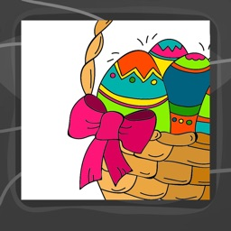 Easter Eggs Coloring Book App