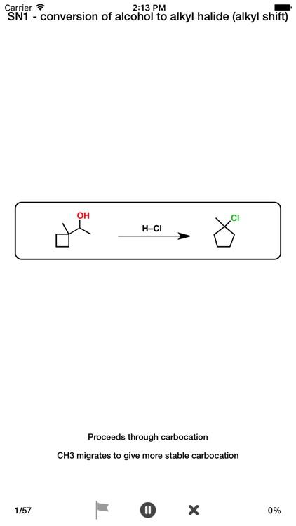 Organic Reaction Flashcards screenshot-4