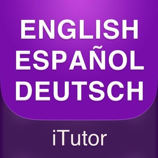 Phrasebook & Vocabulary - English, Spanish, German