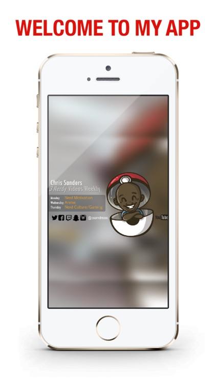 Chris Sanders Official App