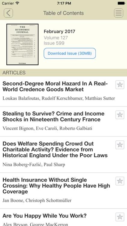 The Economic Journal screenshot-4